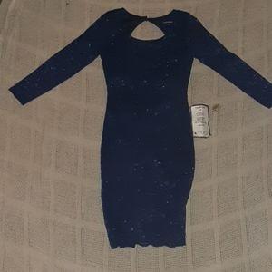 Sequin Hearts Mini Dress